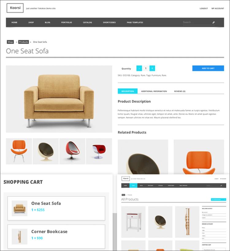 Furniture Woocommerce Themes Free Premium Templates