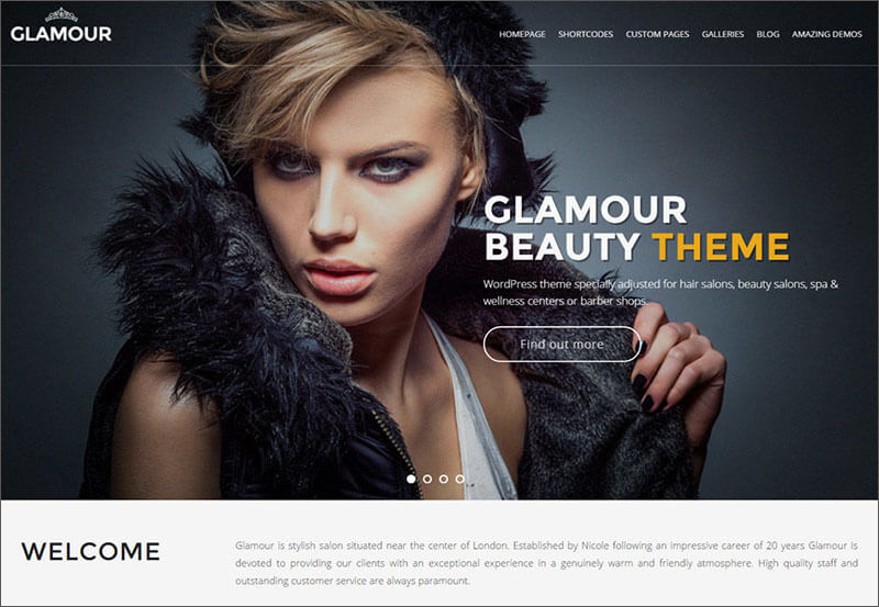 Glamour WP Theme