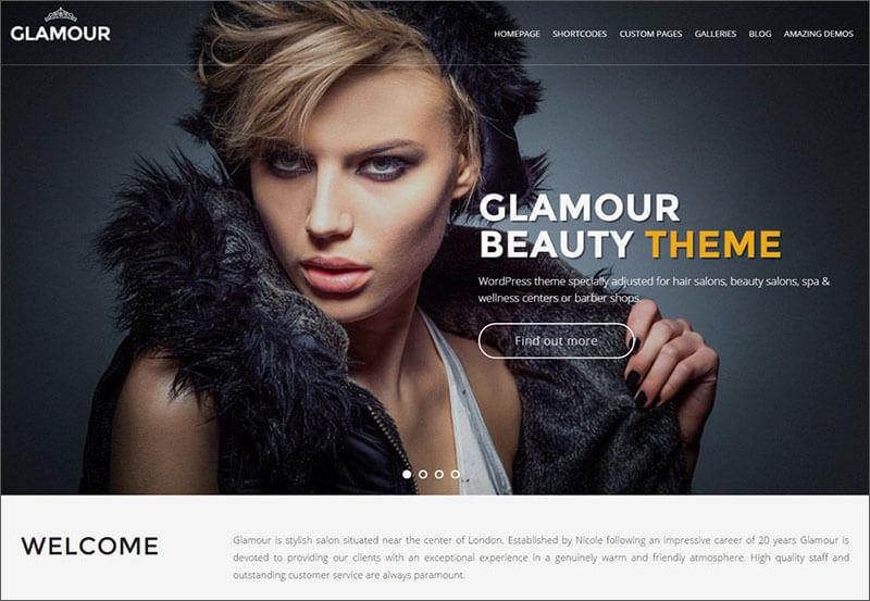 Glamour WP Theme