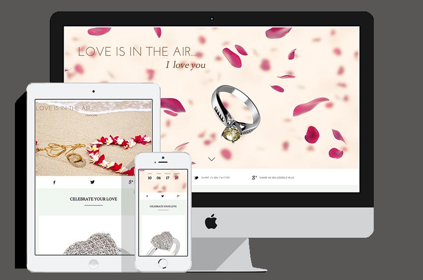 HTML5 Luxury Landing Page