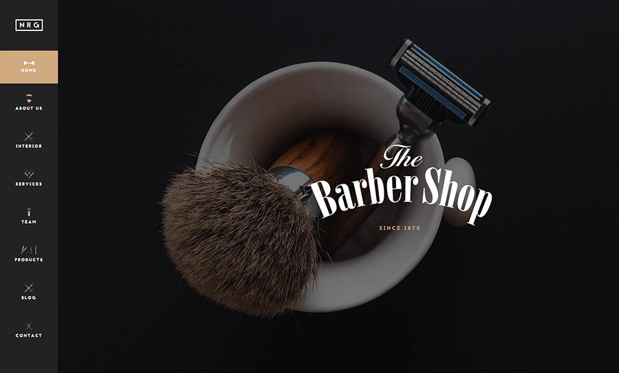 Hairdressers & BarberShops Joomla Template