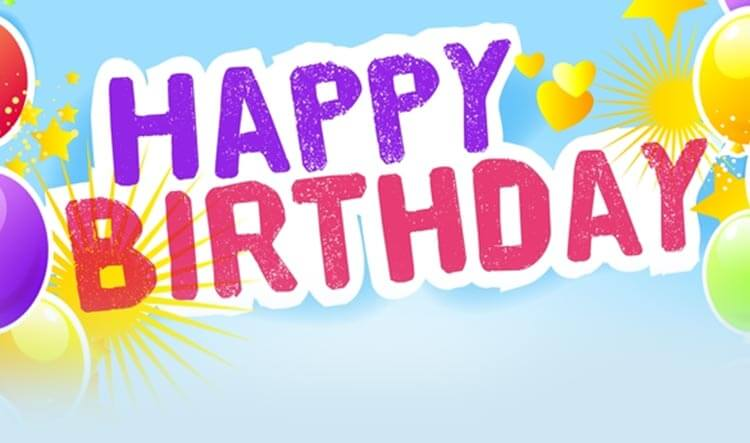 Happy Birthday Balloons Email Template