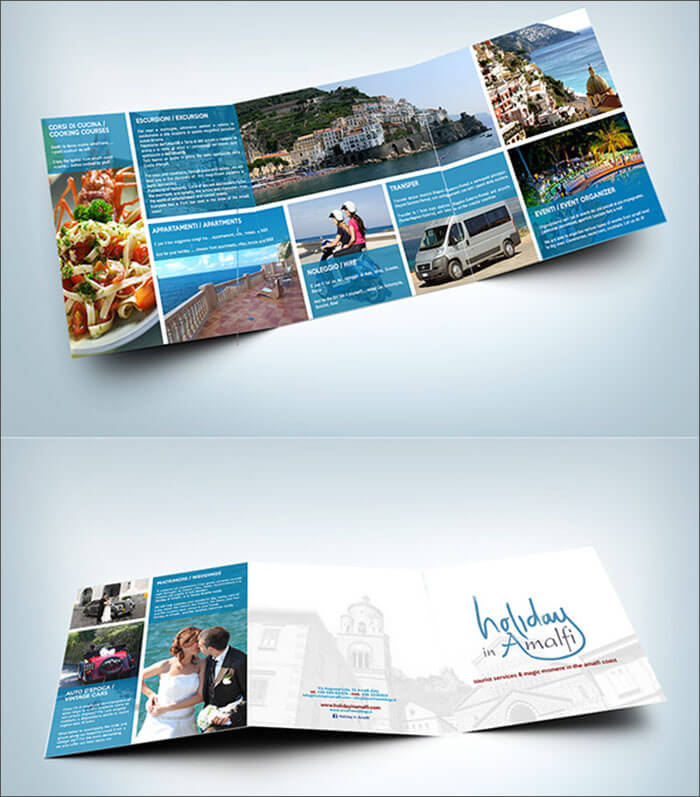Holiday brochure templates free premium templates for Christmas brochure template