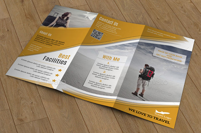 Holiday & Travel Agency Brochure Template