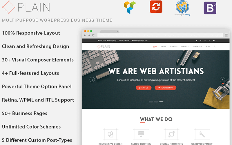 Industrial WP Business Theme