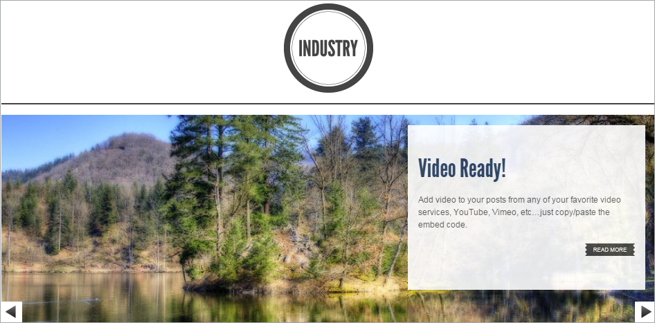 Industry - 8 in 1 Premium WordPress Theme