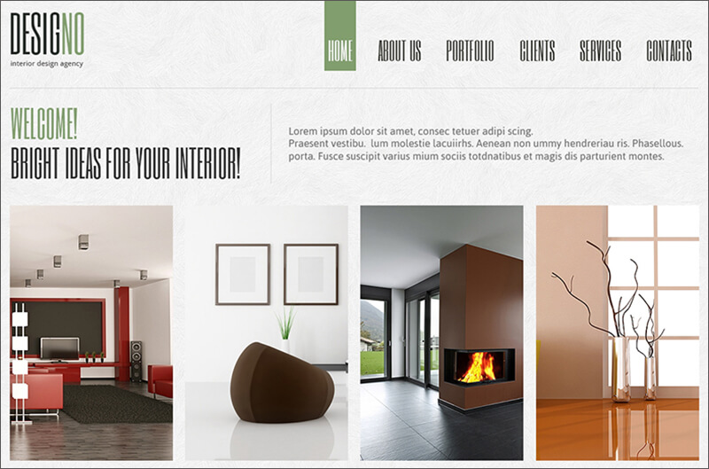 Interior Design Responsive Joomla Theme