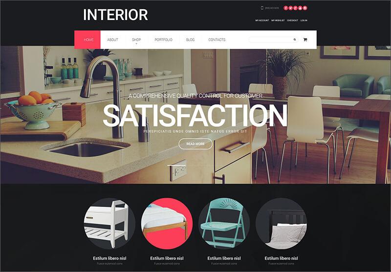 Interior Design WooCommerce Theme