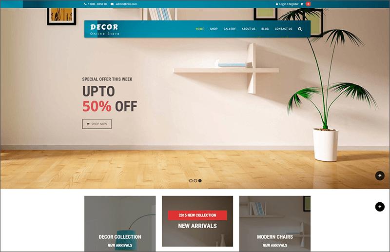Interior & Furniture WooCommerce Theme