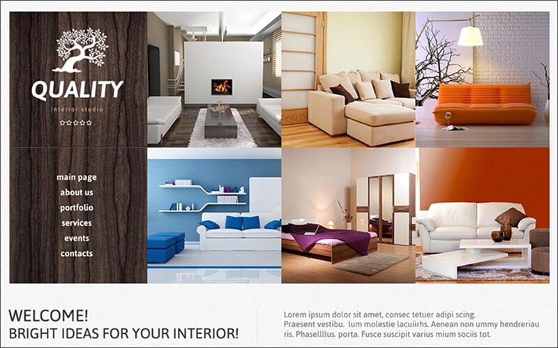 Interior Studio Joomla Template