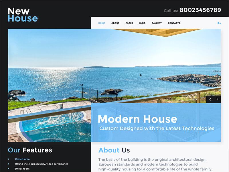 Joomla Real Estate Blog Template