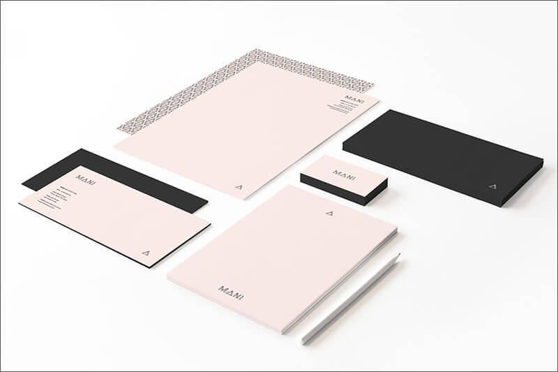 Mani Architecture Business Card