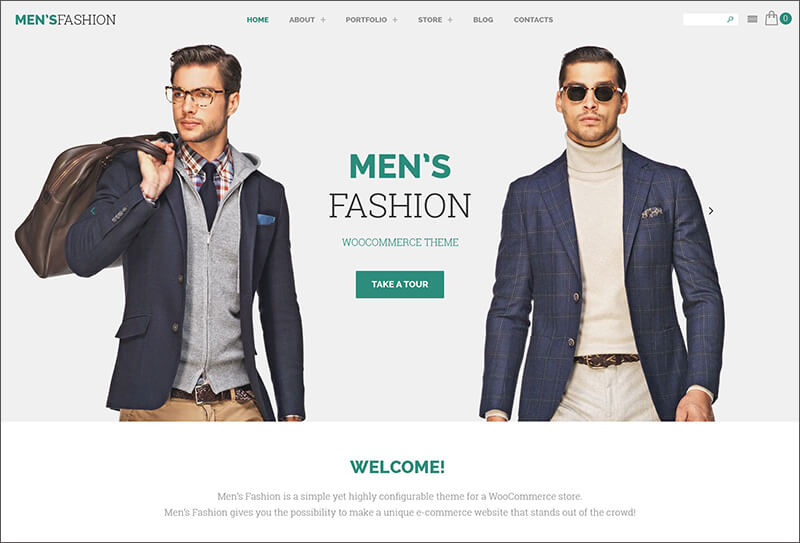 Men's Fashion WooCommerce Theme