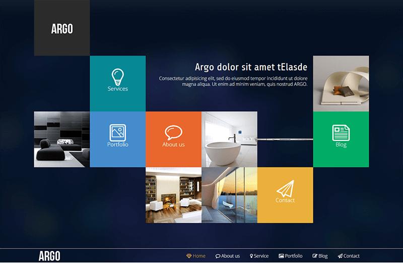 Metro UI Joomla Portfolio Template