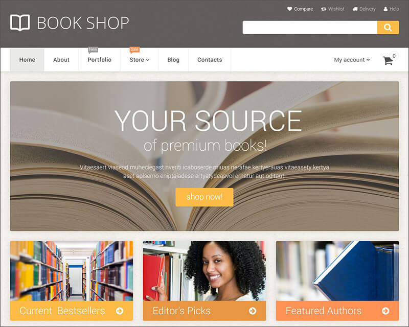 Online Book Store WooCommerce Theme