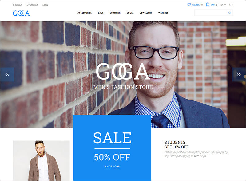 OpenCart Fashion Bootstrap Template