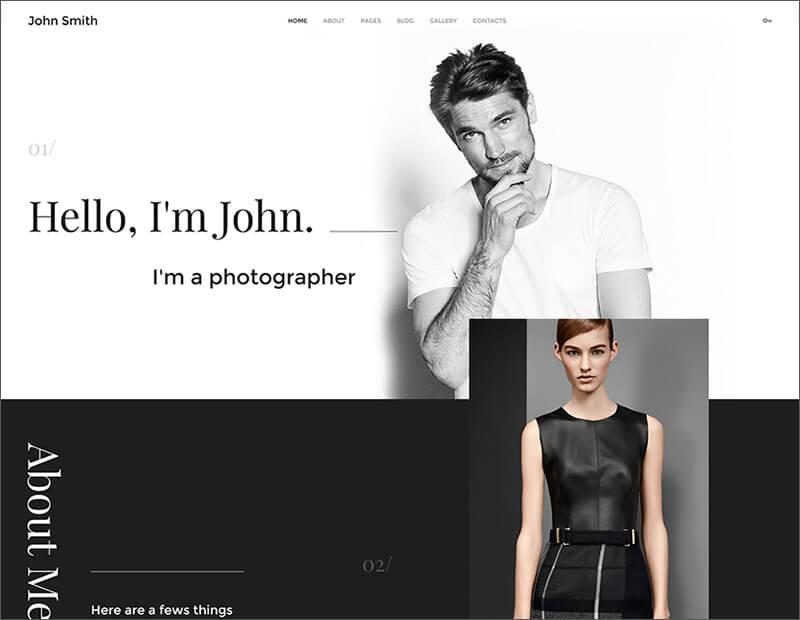 Personal Portfolio Joomla Theme