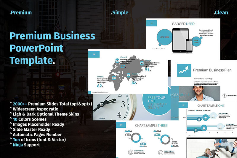 Premium Business Presentation Template