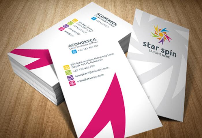 Premium Student Business Card Template