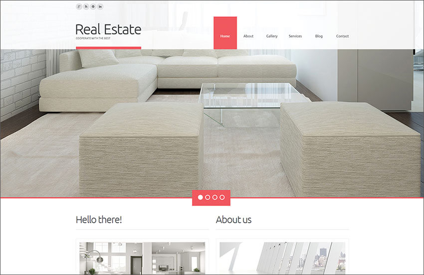 Real Estate Agency WP Blog Theme