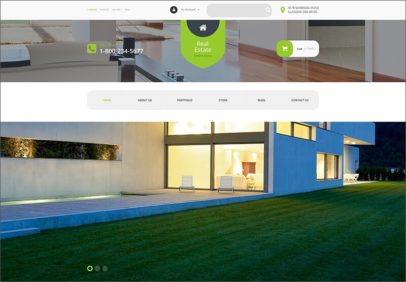 Real Estate Agency WooCommerce Theme