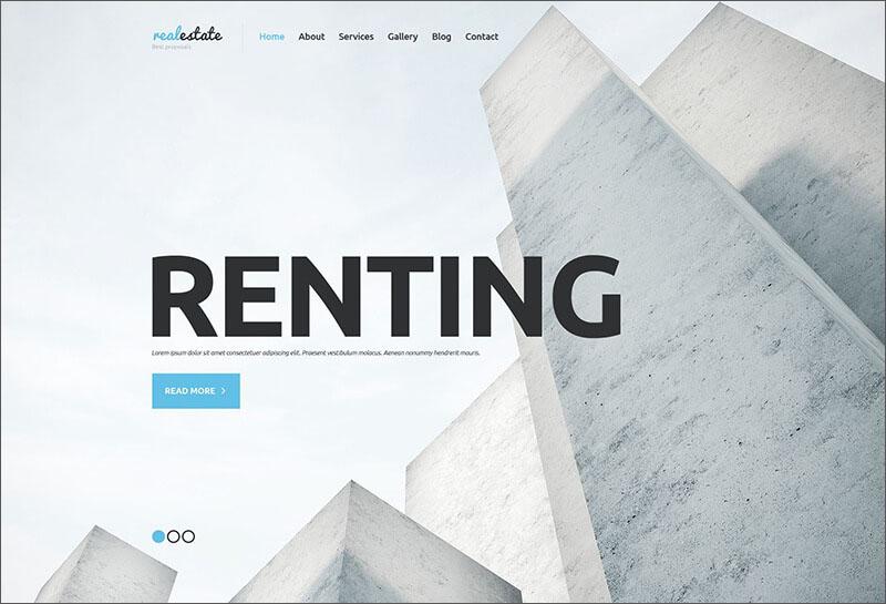 Real Estate Agency WordPress Blog Theme