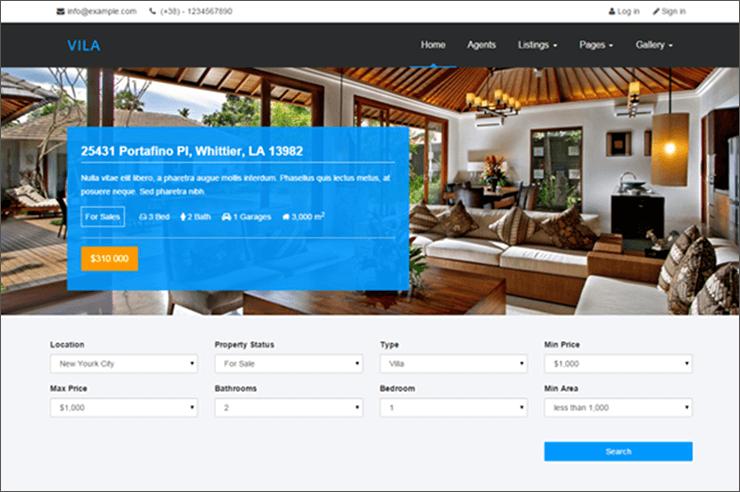 Real Estate Blog Template