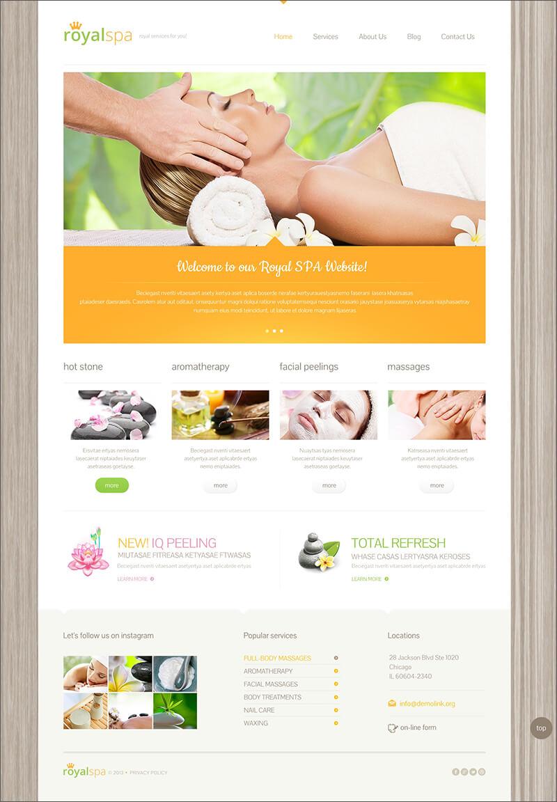 Responsive Beauty Blog Theme