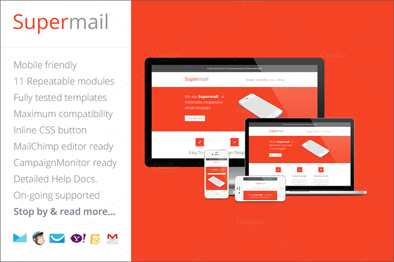 Responsive Business Email Template