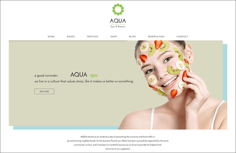 Spa & Beauty Joomla Template