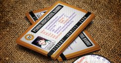 10+ Student Business Card Templates