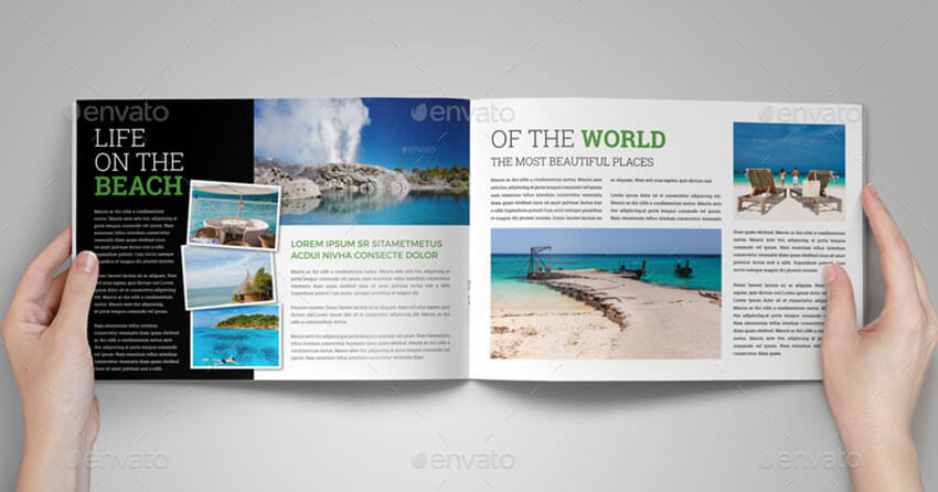 Travel & Holiday Brochure Template