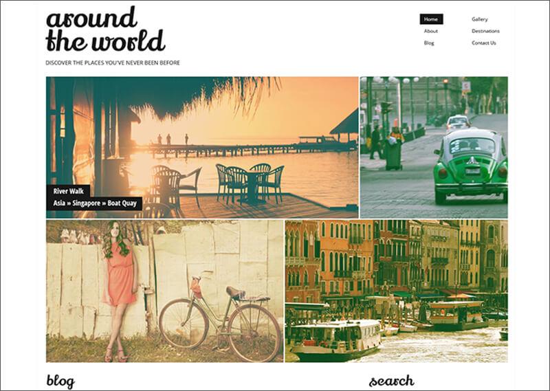 Travel Responsive WP Blog Theme
