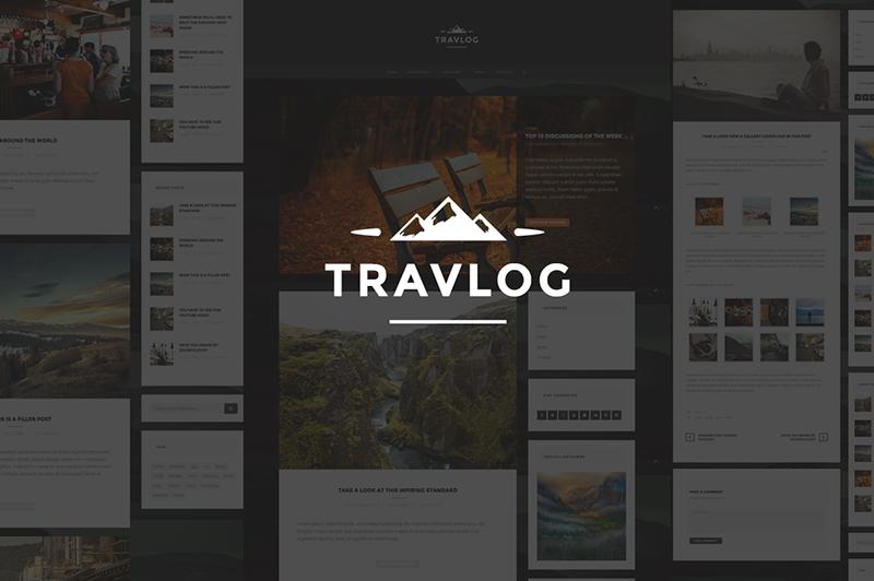 Traveler Blogging WP Theme