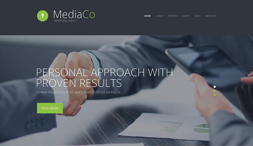 WP Advertising Agency Theme