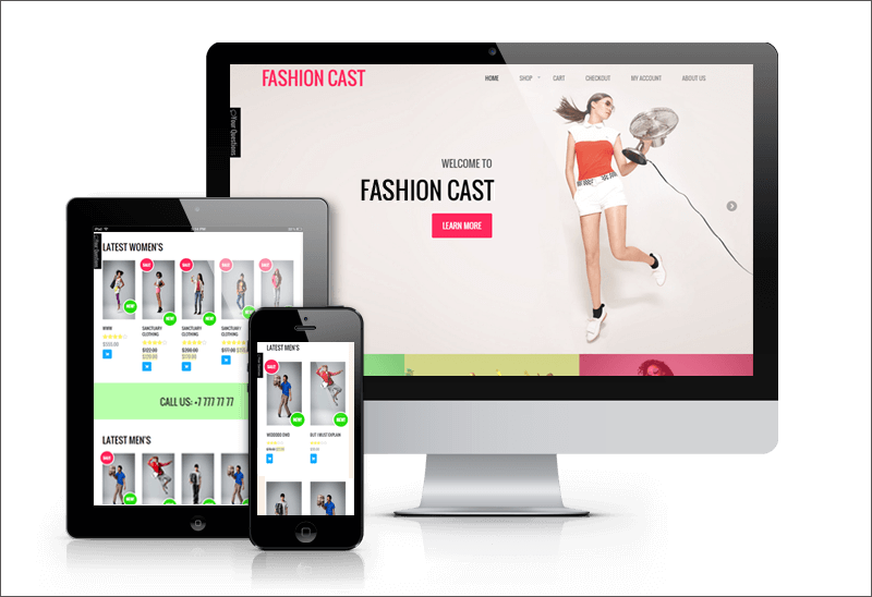 WooCommerce Fashion Theme