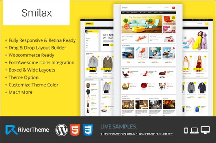 WooCommerce Online Store Theme