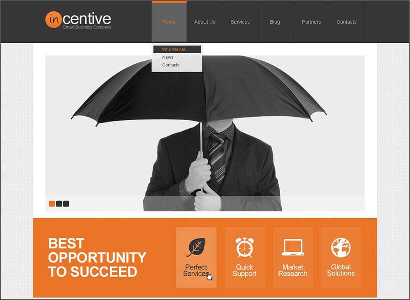 WordPress Advertising Agency Template