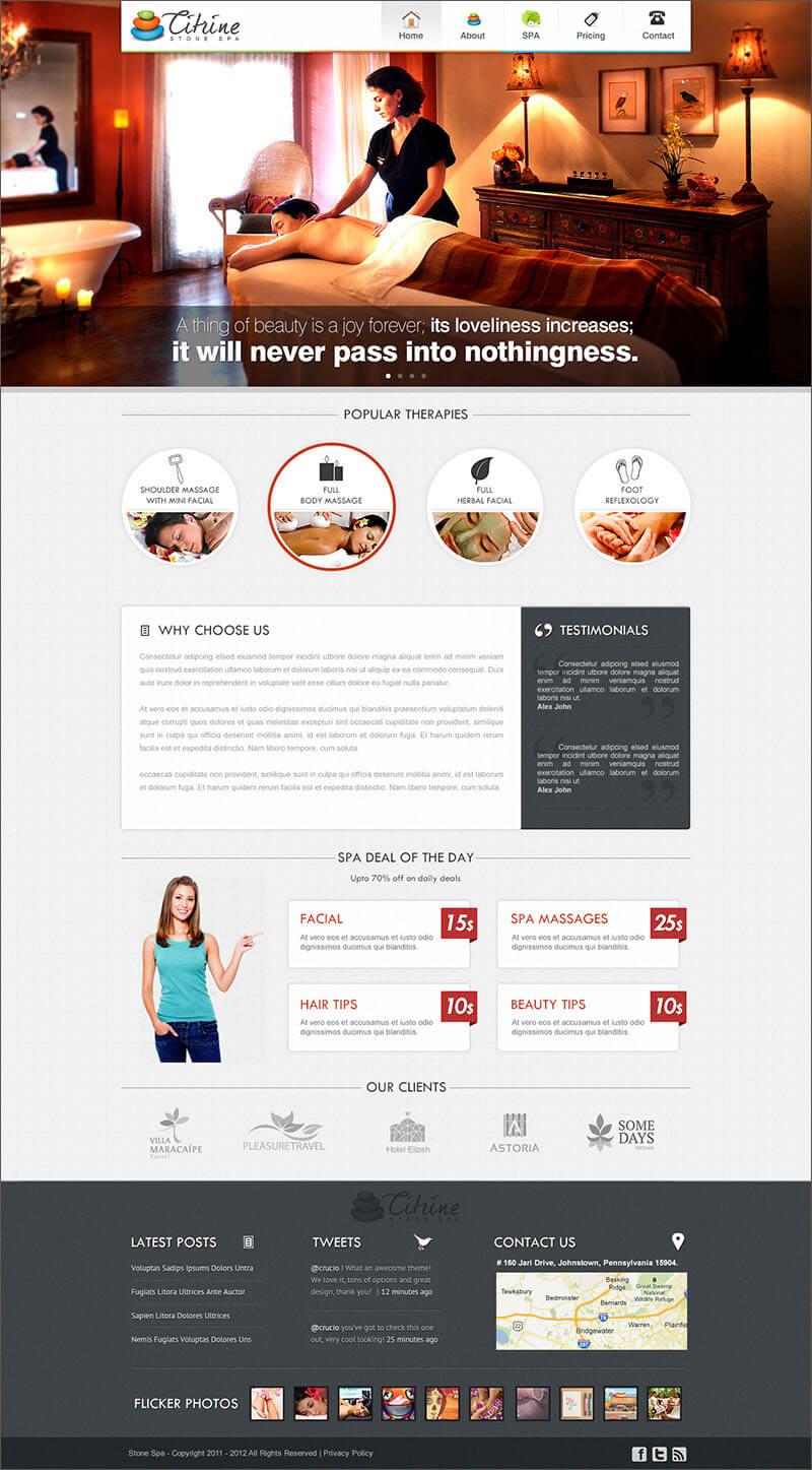 WordPress Beauty Blog Theme
