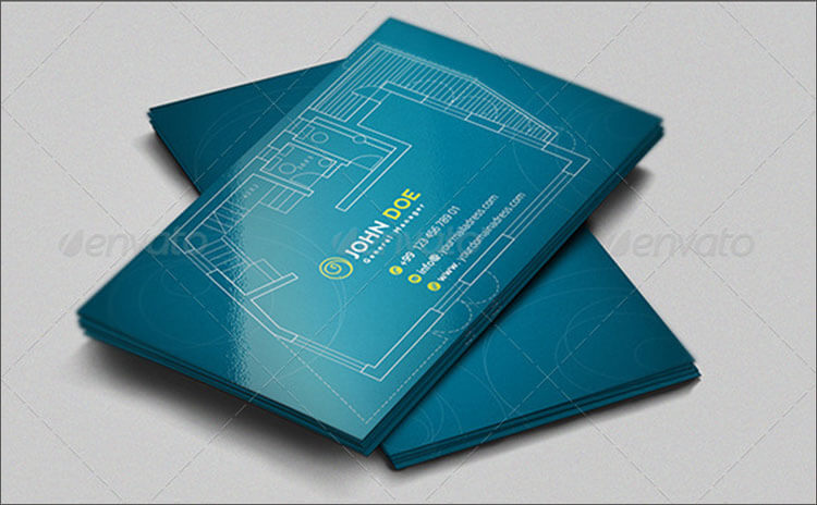 18 architect business cards free psd design templates designer architecture business card reheart Image collections