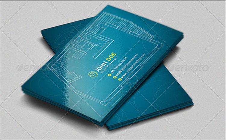 designer architecture Business Card