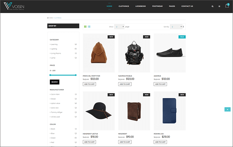 eCommerce Bootstrap Fashion Template