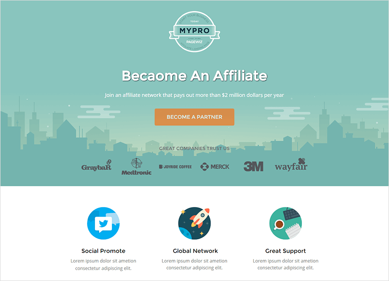Affiliate Landing Page Template
