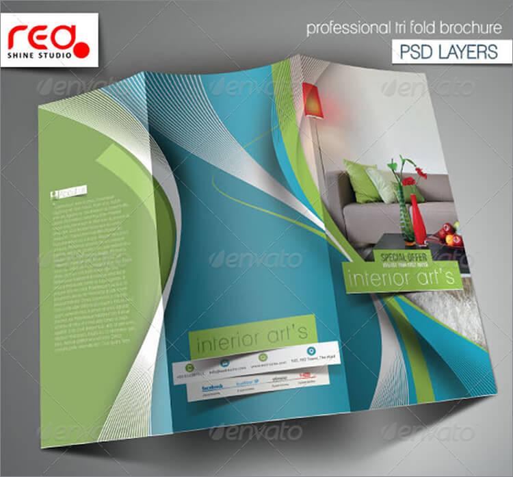 Architecture & Interior Designer Trifold Brochure