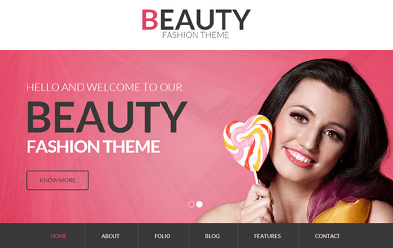 Beauty PHP Template