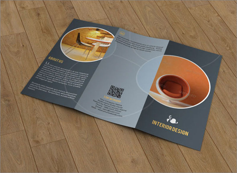 Brochure For Interior Designer