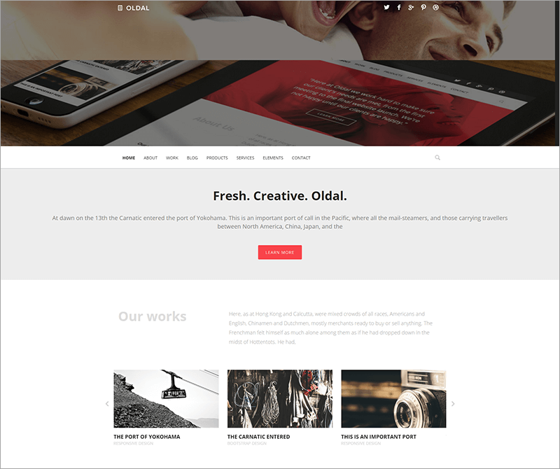 Business & eCommerce Drupal Theme