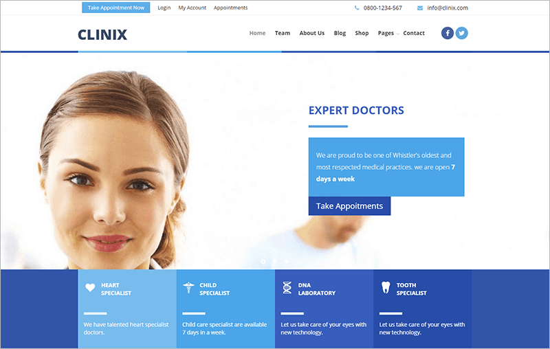 CLINICMedical HTML Template