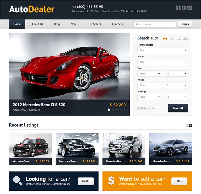 Car Dealer HTML Template