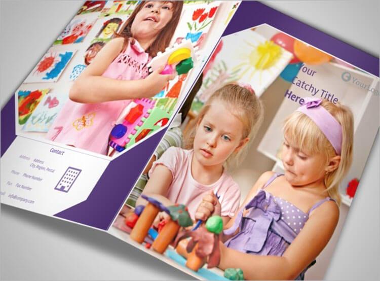 Child Care Center Brochure Day Idealstalist